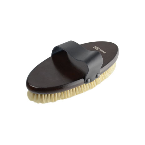 HySHINE Deluxe Body Brush With Pig Bristles