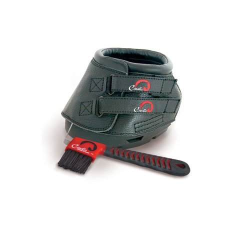 Cavallo Simple Boot Slim With FOC Hoof Pick & Brush