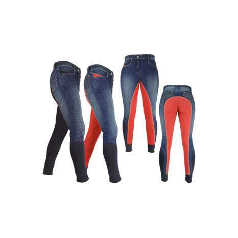 HyPERFORMANCE Rugby Denim Ladies Breeches