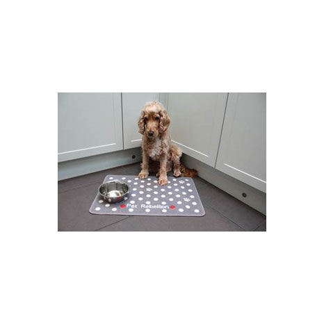 Pet Rebellion Dotty Food Mat