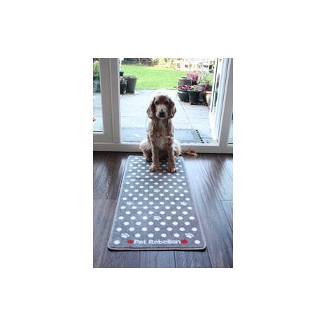 Pet Rebellion Dotty Barrier Rug