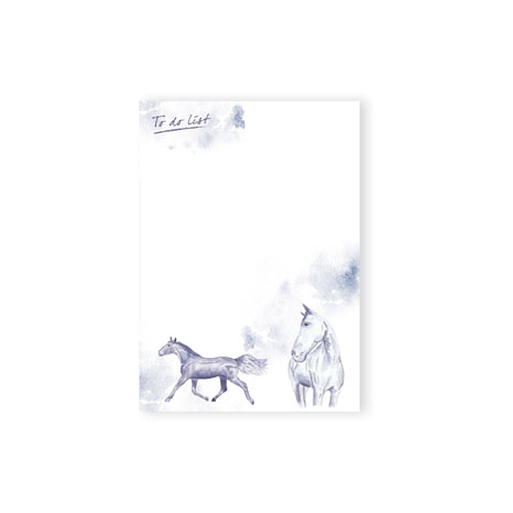 JP Equestrian Watercolour Collection A5 Pad