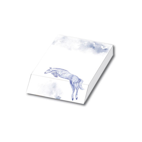JP Equestrian Watercolour Collection Slant Pad