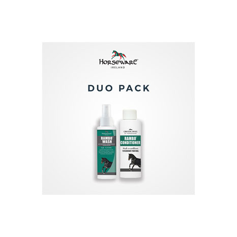 Groom Away Rambo Rug Wash & Conditioner Duo Pack