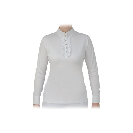 HyFASHION Katherine Ruffle Long Sleeved Show Shirt