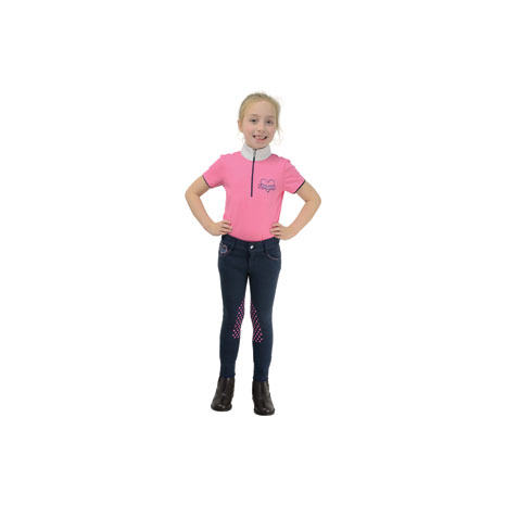Lola Love Heart Children's Jodhpurs by Little Rider