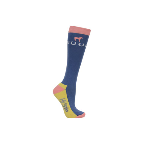HyFASHION Newmarket Horse Print Socks (Pack 3)
