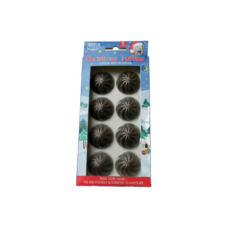 Dog Carob Christmas Truffles