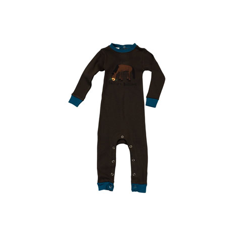 LazyOne Boys Pasture Bedtime Infant Sleepsuit