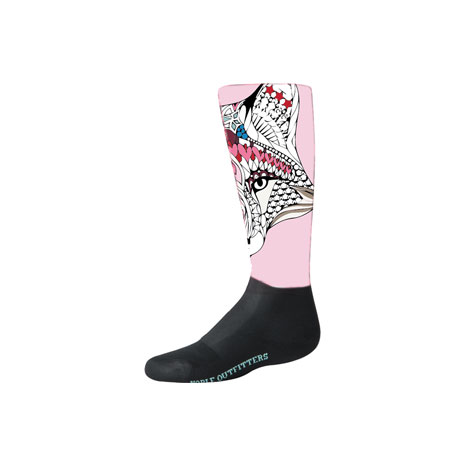 Noble Outfitters Girls Printed Peddies - Over The Calf