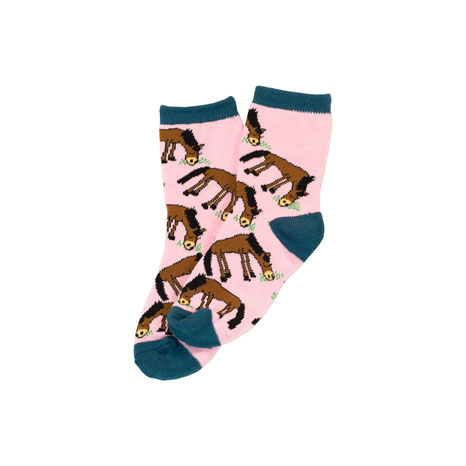 LazyOne Girls Pasture Bedtime Kids Socks
