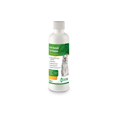 Aqueos Anti-Bacterial Cat Shampoo