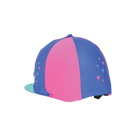Hy Zeddy Three Tone Lycra Hat Silk