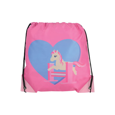 Little Rider Show Pony Drawstring Bag