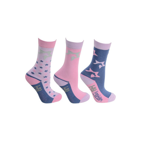 HyFASHION Zeddy Socks (Pack of 3)