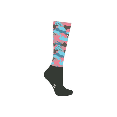 HyFASHION Pretty Camo Pattern Riding Socks
