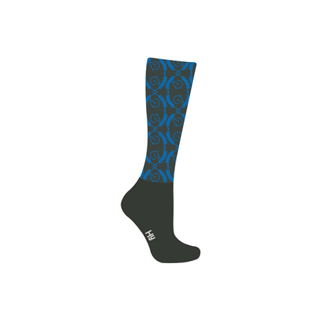 HyFASHION Coldstream Pattern Riding Socks