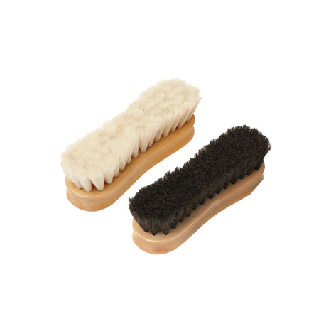 Equerry Wooden Face Brush - Horse Hair
