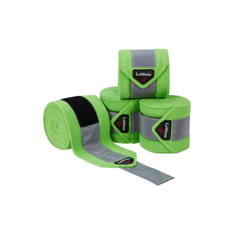 LeMieux High Visibility Fleece Polo Bandages