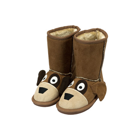 2dec8b469df0 LazyOne Unisex Dog Toasty Toez Slippers Kids