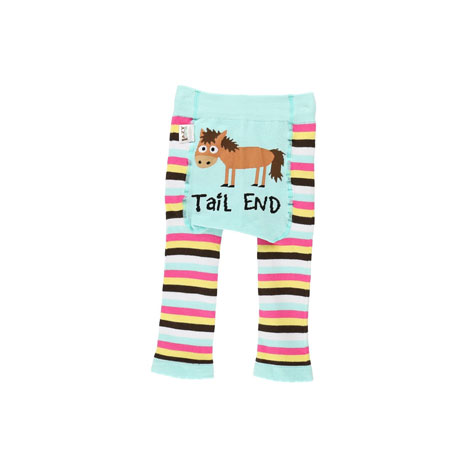 LazyOne Girls Tail End Infant Leggings