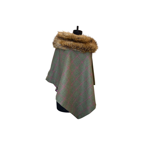George & Dotty Tweed Mimi Cape