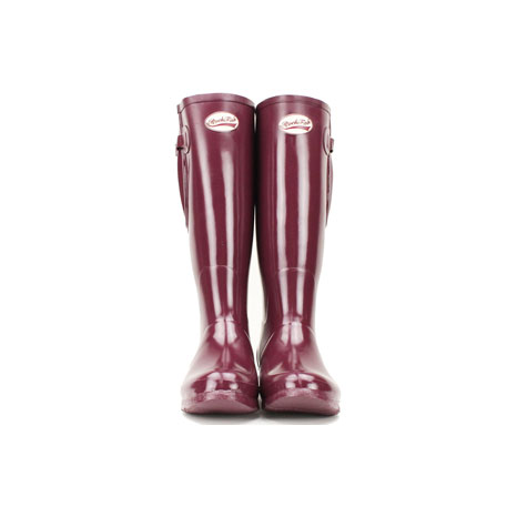 Rockfish Neoprene Lined Tall Adjustable Gloss Wellington