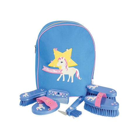 Little Rider Star in Show Complete Grooming Kit Rucksack