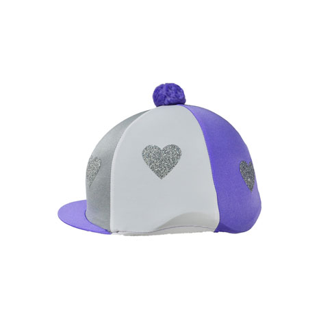 Love Heart Glitter Hat Cover by Little Rider
