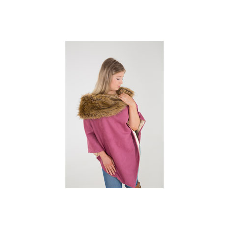 George & Dotty Maisie Suedette Cape
