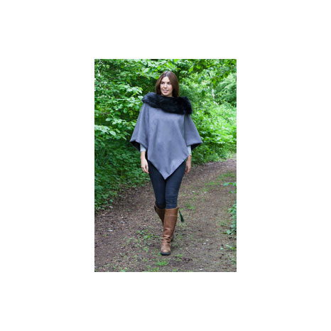 George & Dotty Amelia Suedette Cape