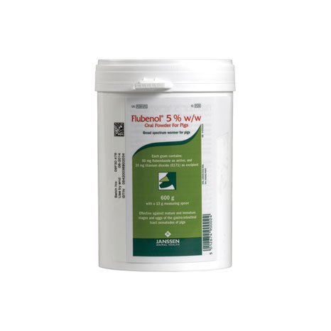 Flubenol Oral Powder 5% for Pigs
