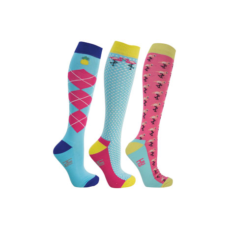 HyFASHION Flamingo Socks (Pack of 3)