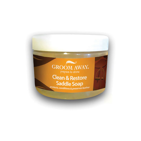 Groom Away Clean & Restore Saddle Soap
