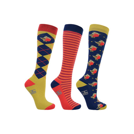 HyFashion Robin Socks (Pack 3)