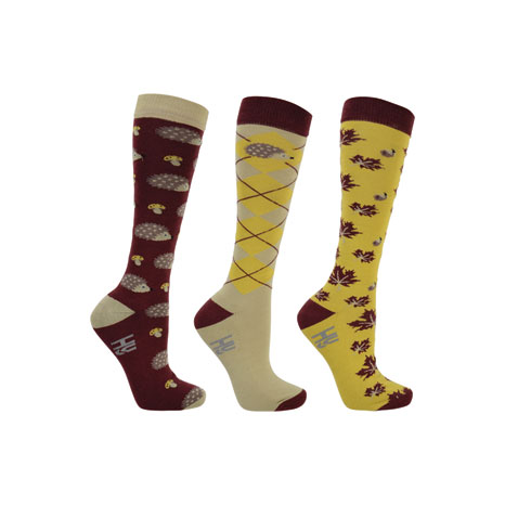 HyFASHION Harry Hedgehog Socks (Pack of 3)