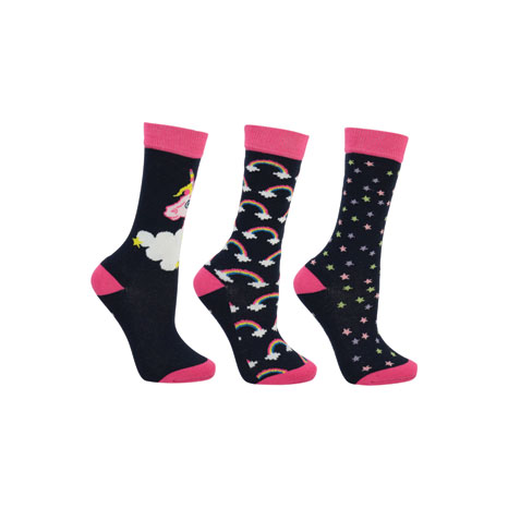 Little Unicorn Socks by Little Rider  (Pack of 3)