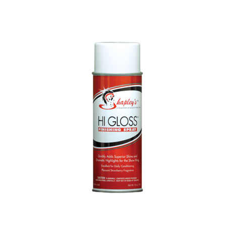 Shapley's Hi Gloss Finishing Spray