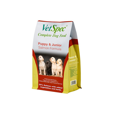 VetSpec Puppy & Junior Salmon Formula