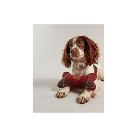 Joules Heritage Tweed Bone Toy