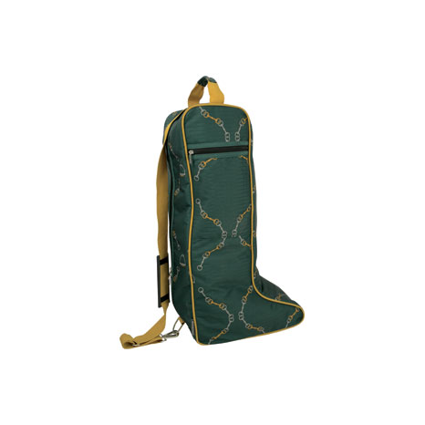 Hy Equestrian Elegant Stirrup and Bit Boot Bag
