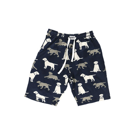 LazyOne Labrador Dogs Men's PJ Shorts