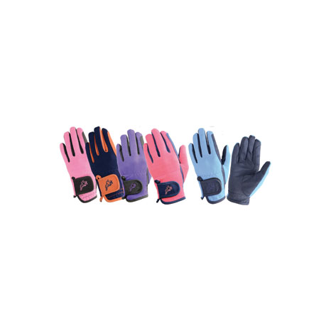 Hy5 Children's Every Day Two Tone Riding Gloves