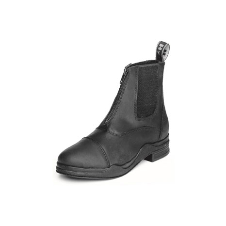 HyLAND Wax Leather Zip Boot