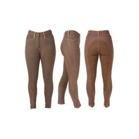 HyPERFORMANCE Denim Look with Leather Seat Ladies Breeches