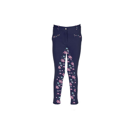 HyPERFORMANCE Wavy Children's Jodhpurs -Flower Power Print