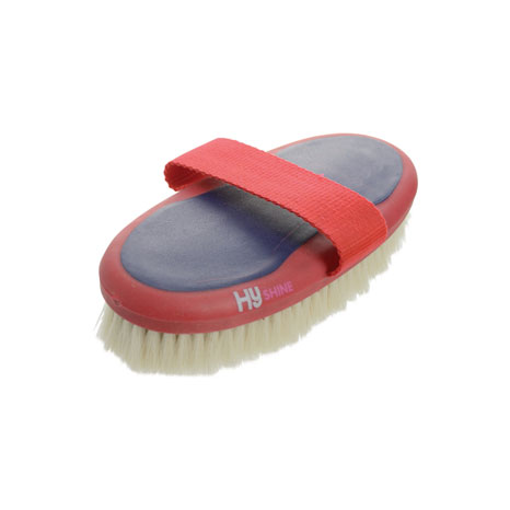 HySHINE Pro Groom Goat Hair Body Brush