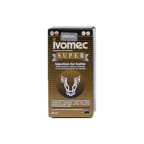 Ivomec Super Injection For Cattle
