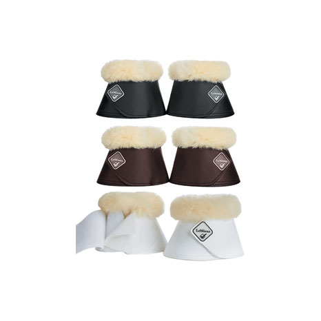 LeMieux Lambskin Wrap Round Over Reach Boots