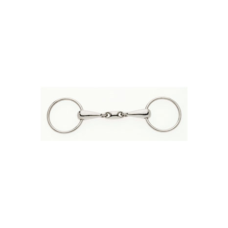Loose Ring Snaffle With Lozenge